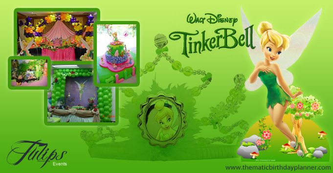 Tinker Bell Fairy Themed Birthday Party Theme Planner Lahore Pakistan