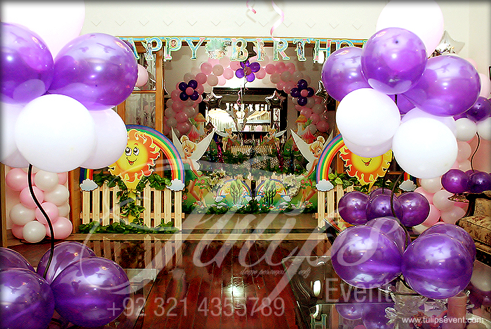 Tinkerbell Themed Birthday Party Ideas Tulipsevent 03