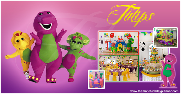 Barney Toddler Birthday Party Planner Pakistan