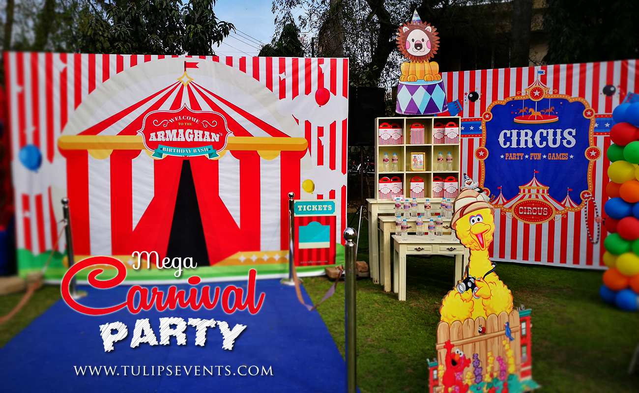 red templates printable decor circus step aqua decorations backdrop carnival sign up party right