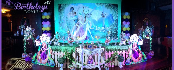 royal queen rapunzel tangled birthday party theme ideas in Pakistan