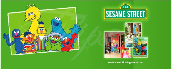Sesame Street 1st Birthday Party Planner in Pakistan