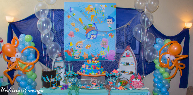 Under The Sea And Ocean Themed Birthday Party Ideas