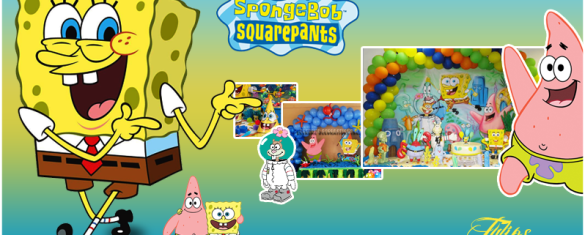 SpongeBob SquarePants birthday theme planner pakistan - Copy
