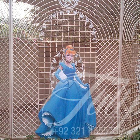 Princess Snow White, Cinderella