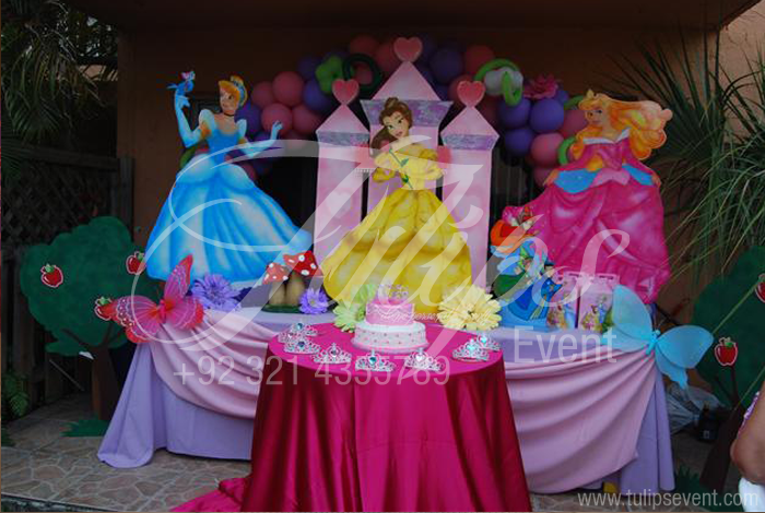 Disney Princess Birthday Party Planner In Lahore Pakistan