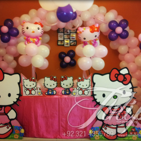 Mask Hello Kitty Party