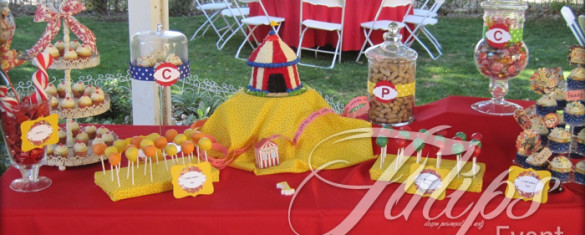 Carnival Circus Themed Birthday Planner in Pakistan 02