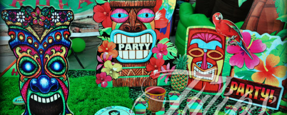 Hawaiian Themed Birthday Party Decoration Ideas Pakistan 20