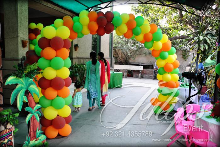 Luau Hawaiian Party Planner in Lahore Pakistan.