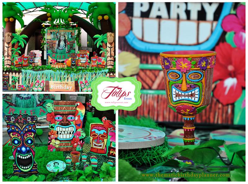 Tiki Themed Backyard Party : The Great Luau Hawaiian Themed Party Planner in Pakistan