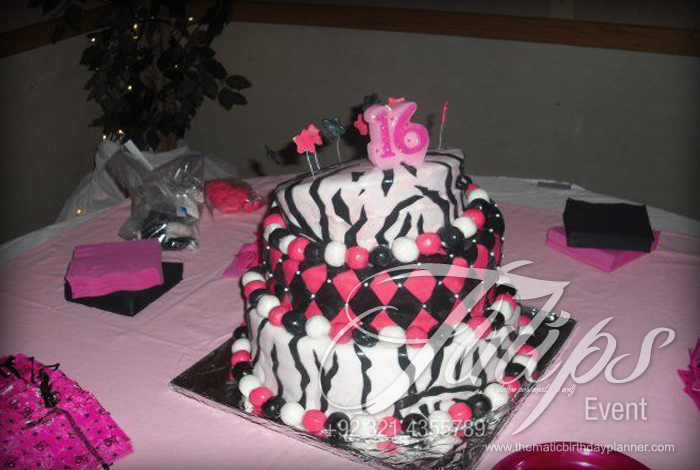 Find best Sweet 16 Theme Party planner Lahore Pakistan