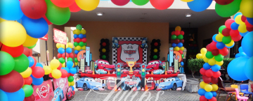 Cars Birthday Party Ideas planner in Pakistan Tulips Event 13