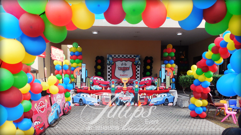 Cars Theme Party Ideas And Planner In Pakistan
