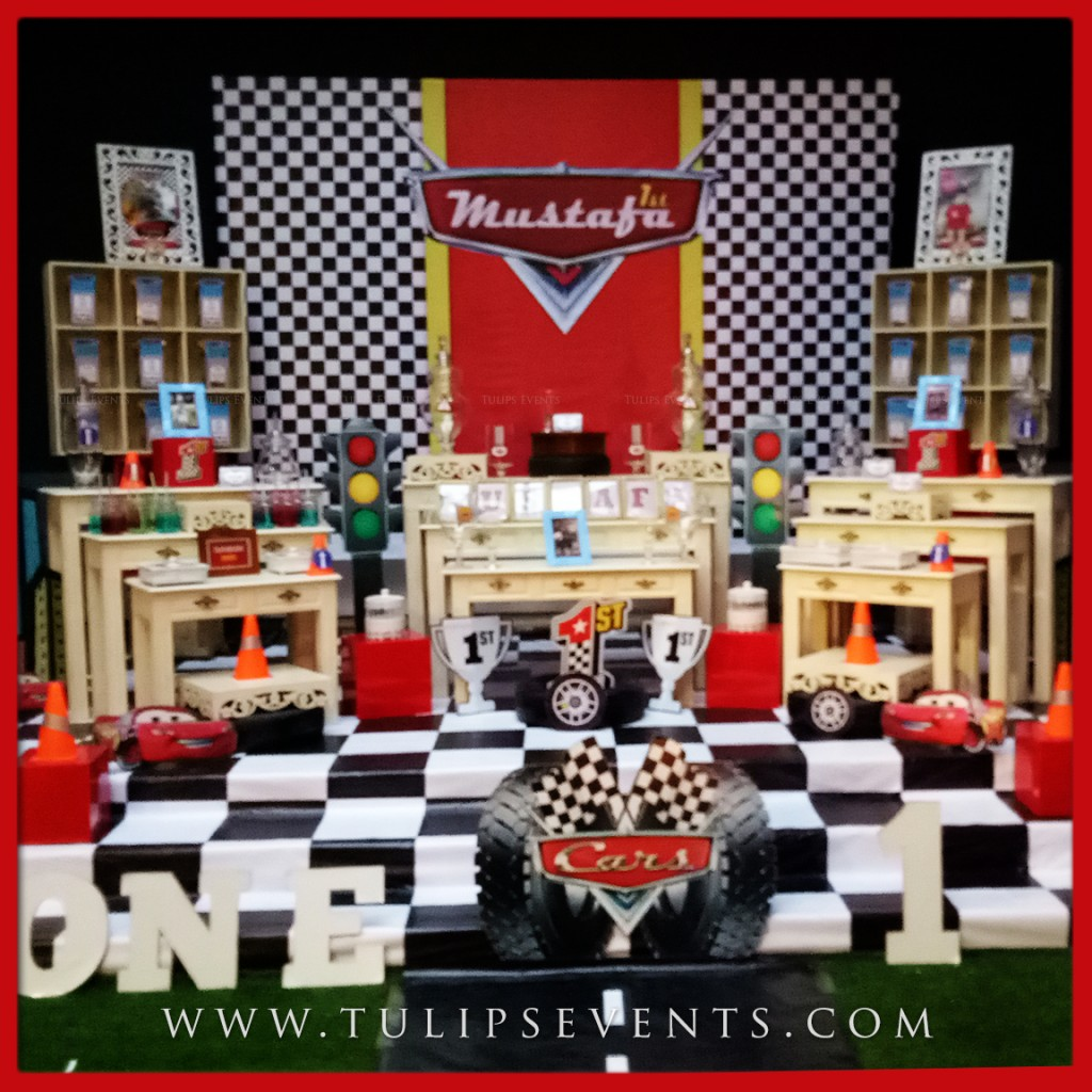 Cars theme party ideas and planner in pakistan for Auto decoration in pakistan