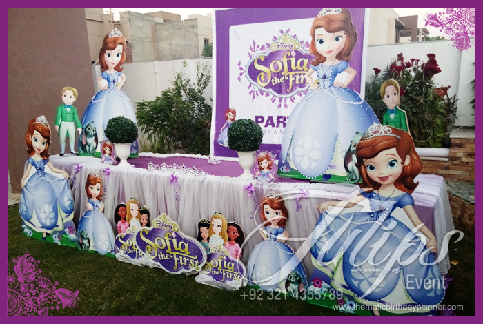 Sofia The First Party & Sofia The First Birthday Decoration Ideas - Elitflat