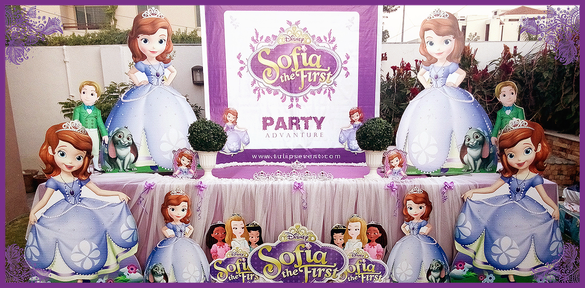 sofia the first birthday party theme ideas in lahore. Black Bedroom Furniture Sets. Home Design Ideas