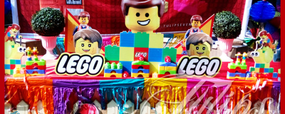 Lego emmet birthday party decoration ideas in Pakistan