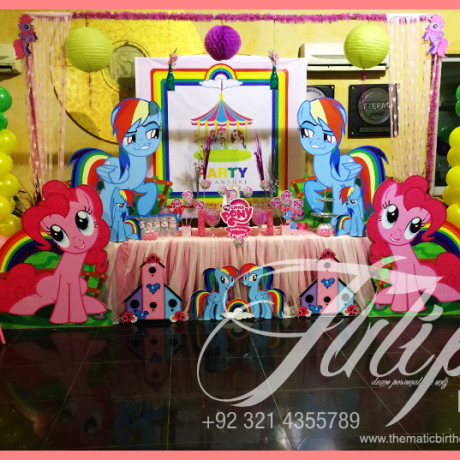 My Little Pony themed party