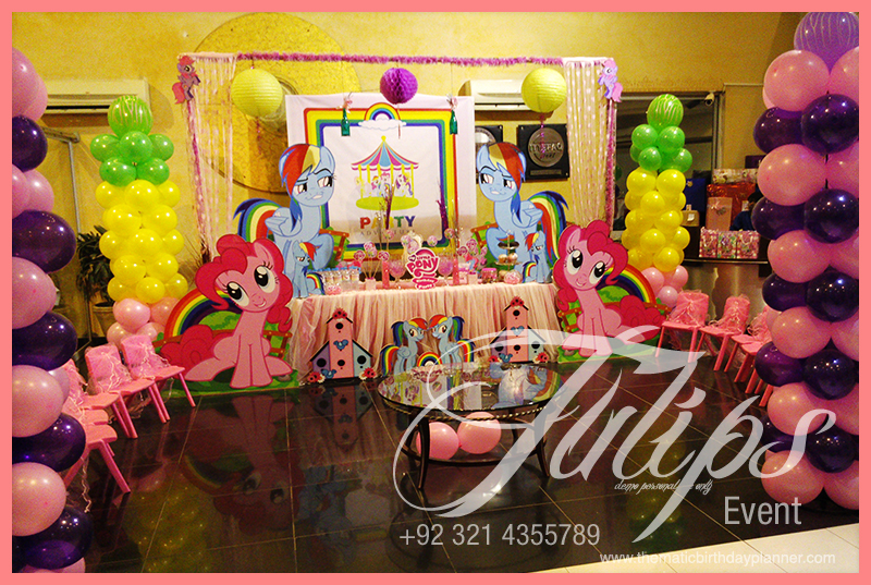 My Little Pony Rainbow Birthday Party Ideas In Pakistan