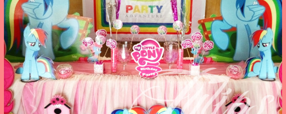 My Little Pony Rainbow Birthday party ideas in Pakistan (5)