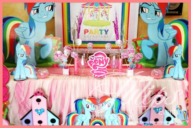 My Little Pony Rainbow Birthday Party Ideas In Pakistan