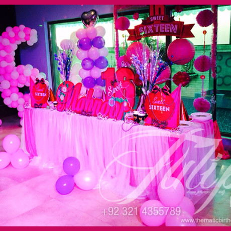 Sweet 16 Plum Theme