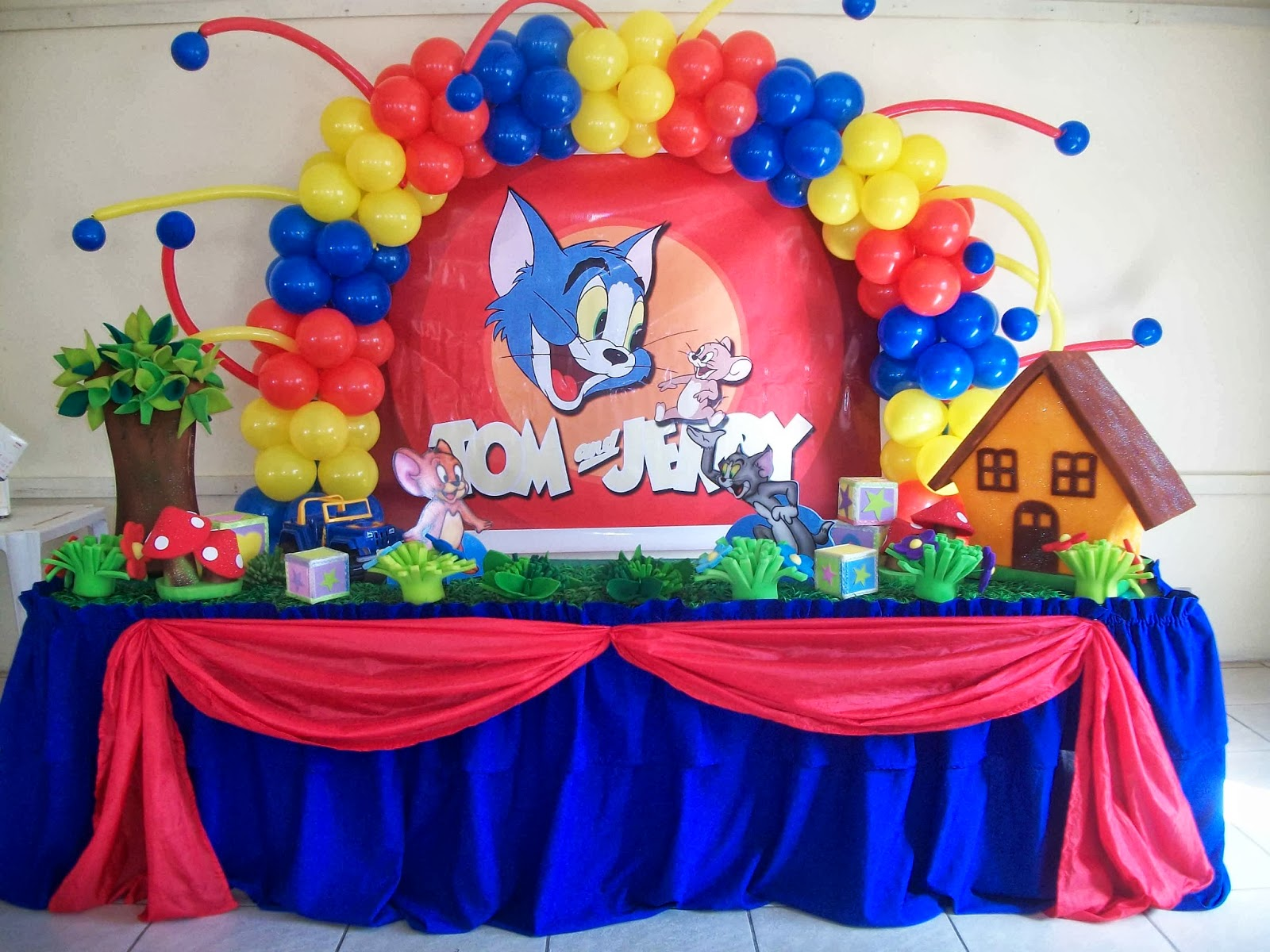 Tom Jerry birthday party theme ideas in Pakistan