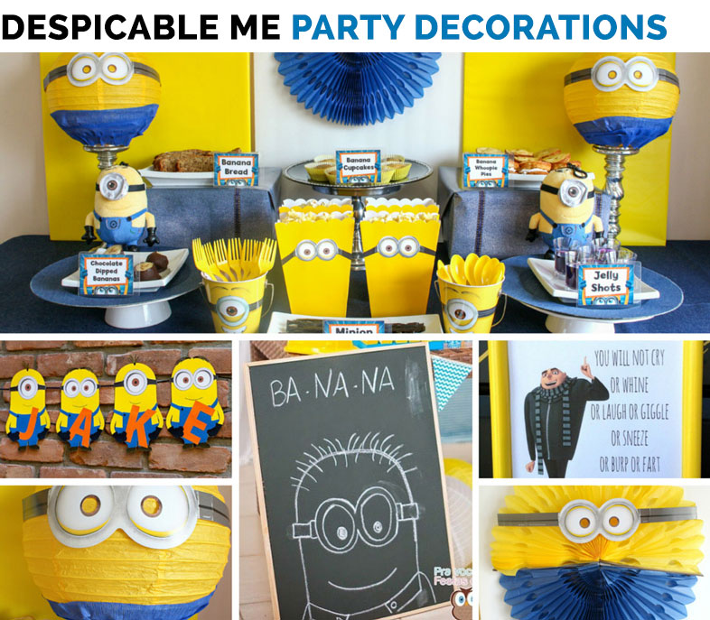 Minions Birthday Party Ideas In Pakistan