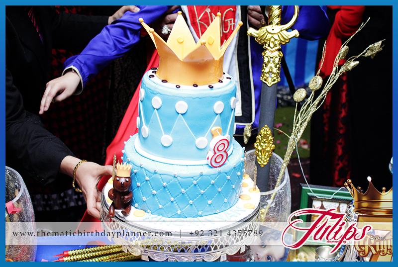 Royal King Birthday Theme Boy Party In Pakistan