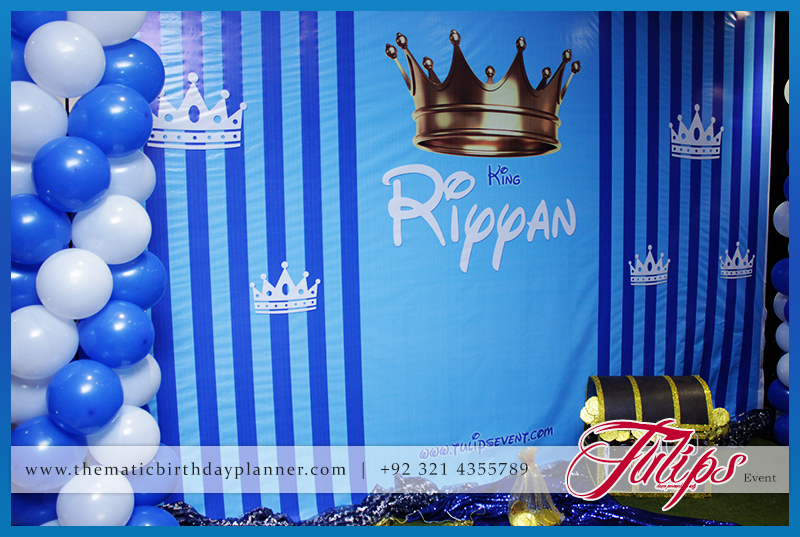 Royal King Birthday Theme Boy Party In Pakistan