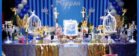 Royal King Birthday Theme Boy Party in Pakistan 18