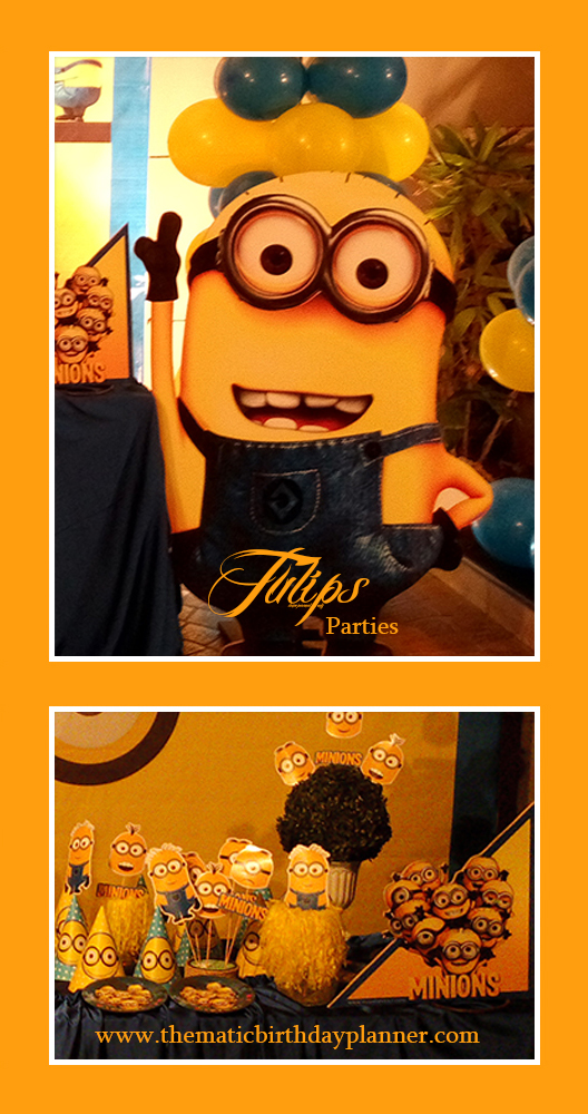 Despicable Me Minions Party Theme ideas in Lahore Pakistan