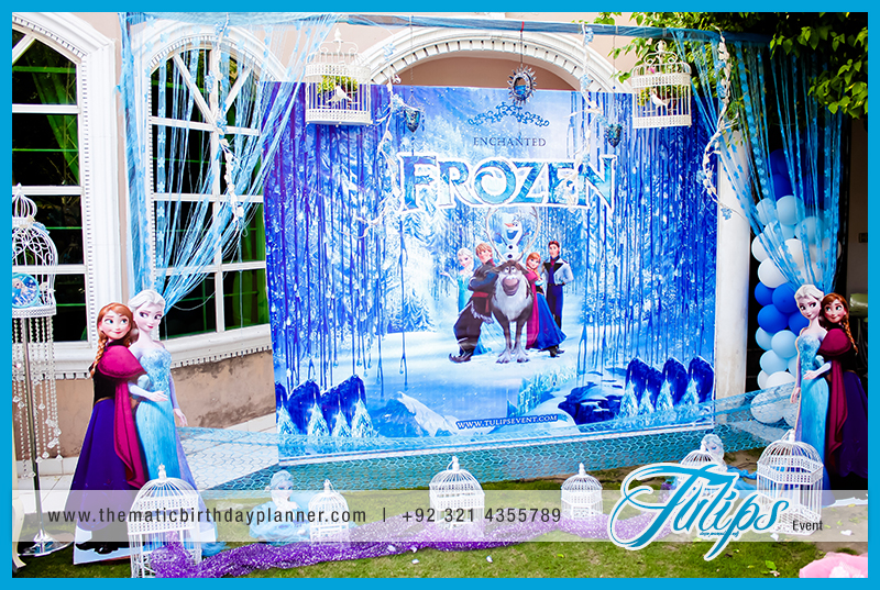 Theme Party Decoration Ideas Part - 41: Frozen Birthday Party Theme Ideas Tulips Event In Pakistan 05 ...