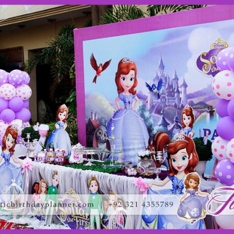 Sofia Themed Party