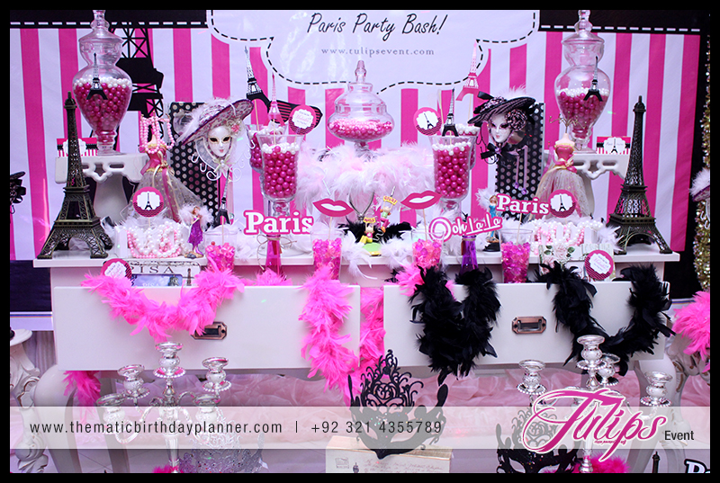 Ooh La Paris Theme Girls Party Ideas In Pakistan 1