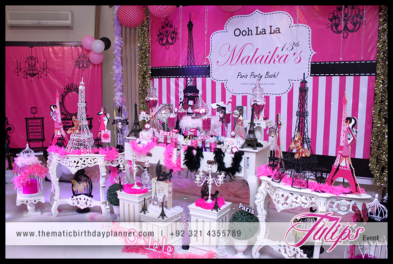 Ooh La La Paris Theme Girls Party Ideas In Pakistan