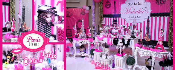 Ooh La Paris Theme Girls Party Ideas In Pakistan