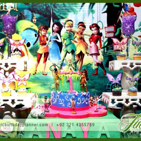Tinkerbell Pixie Theme Party