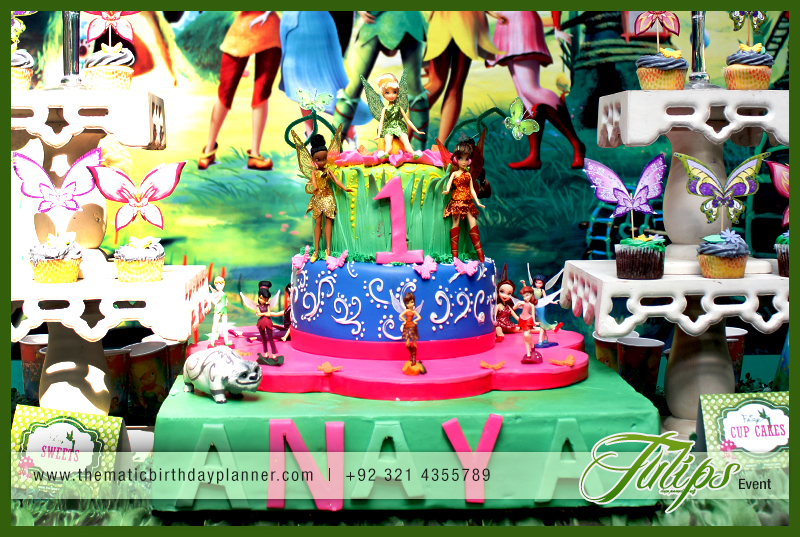 Plan Tinkerbell Fairies Party Theme Ideas in Pakistan