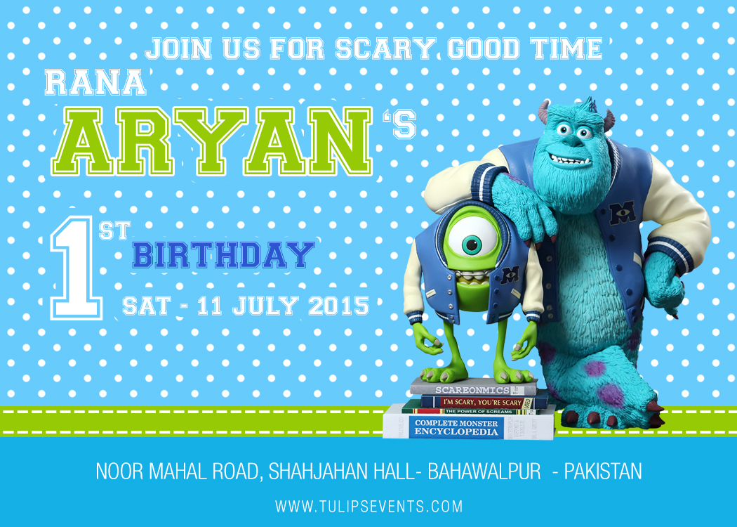 Monster Birthday Party Invitations was luxury invitation layout