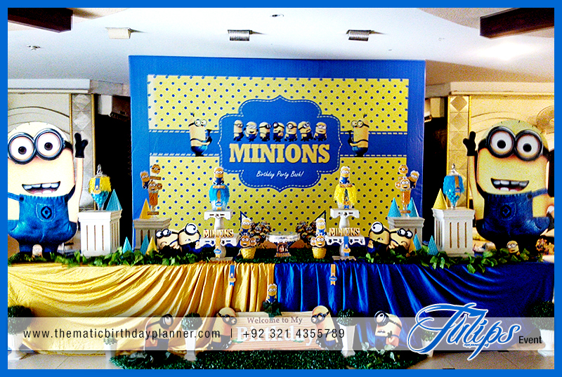 Despicable Me Minions Party Theme Ideas In Pakistan 13