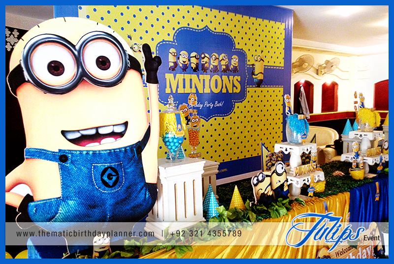 Despicable Me Minions Party Theme Ideas In Lahore Pakistan