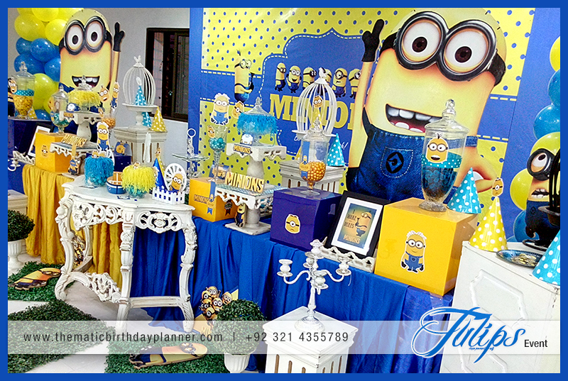Minions Themed Birthday Party Decoration Ideas In Pakistan