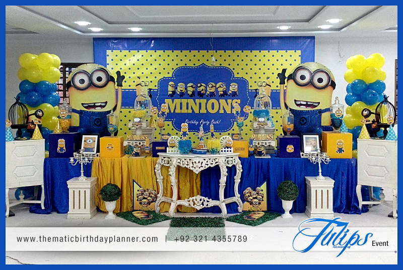 Birthday Theme Decoration Ideas Part - 41: Minions Themed Birthday Party