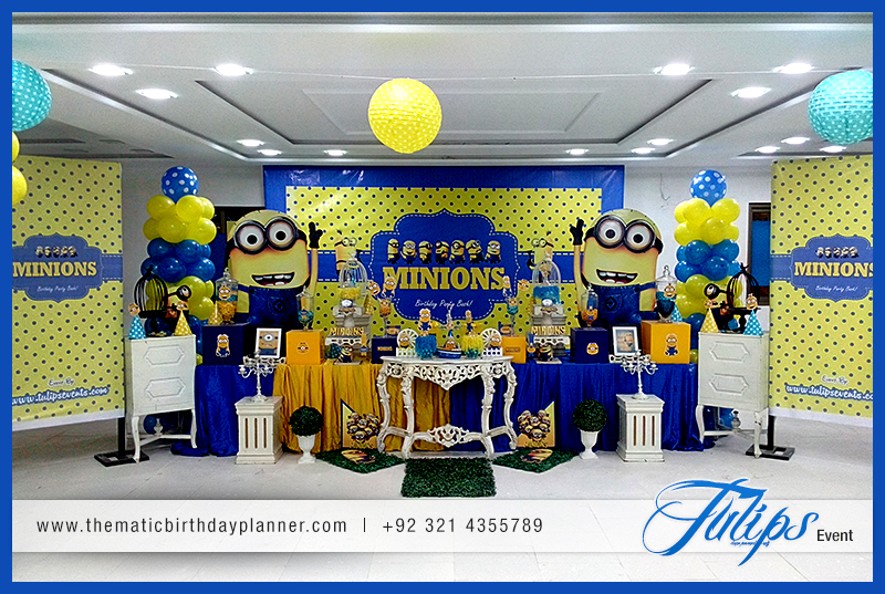 Minions Themed Birthday Party Decoration Ideas In Pakistan 19