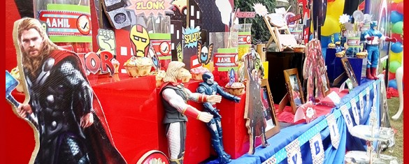 Avengers Birthday Party Theme ideas in Pakistan 02