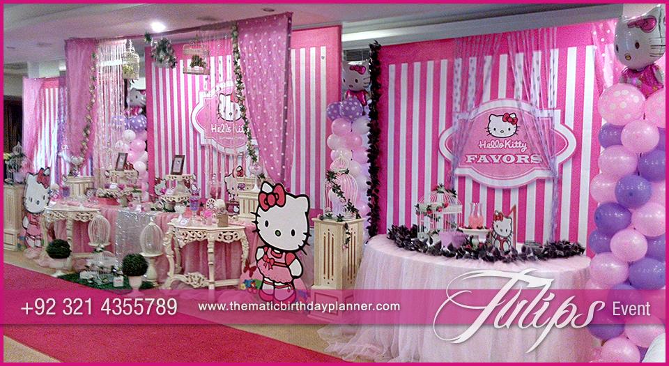 Pink Hello Kitty Birthday