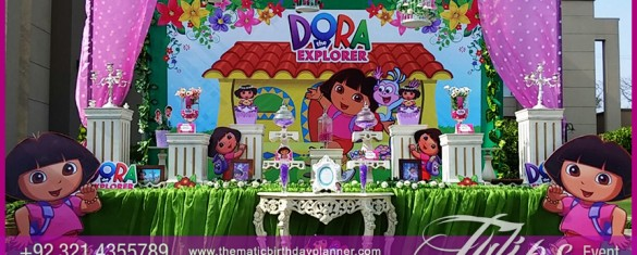 Dora the Explorer First birthday party planner in Pakistan