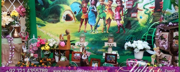 Magical Fairy Tinkerbell Party theme decoration in Pakstan  (11)